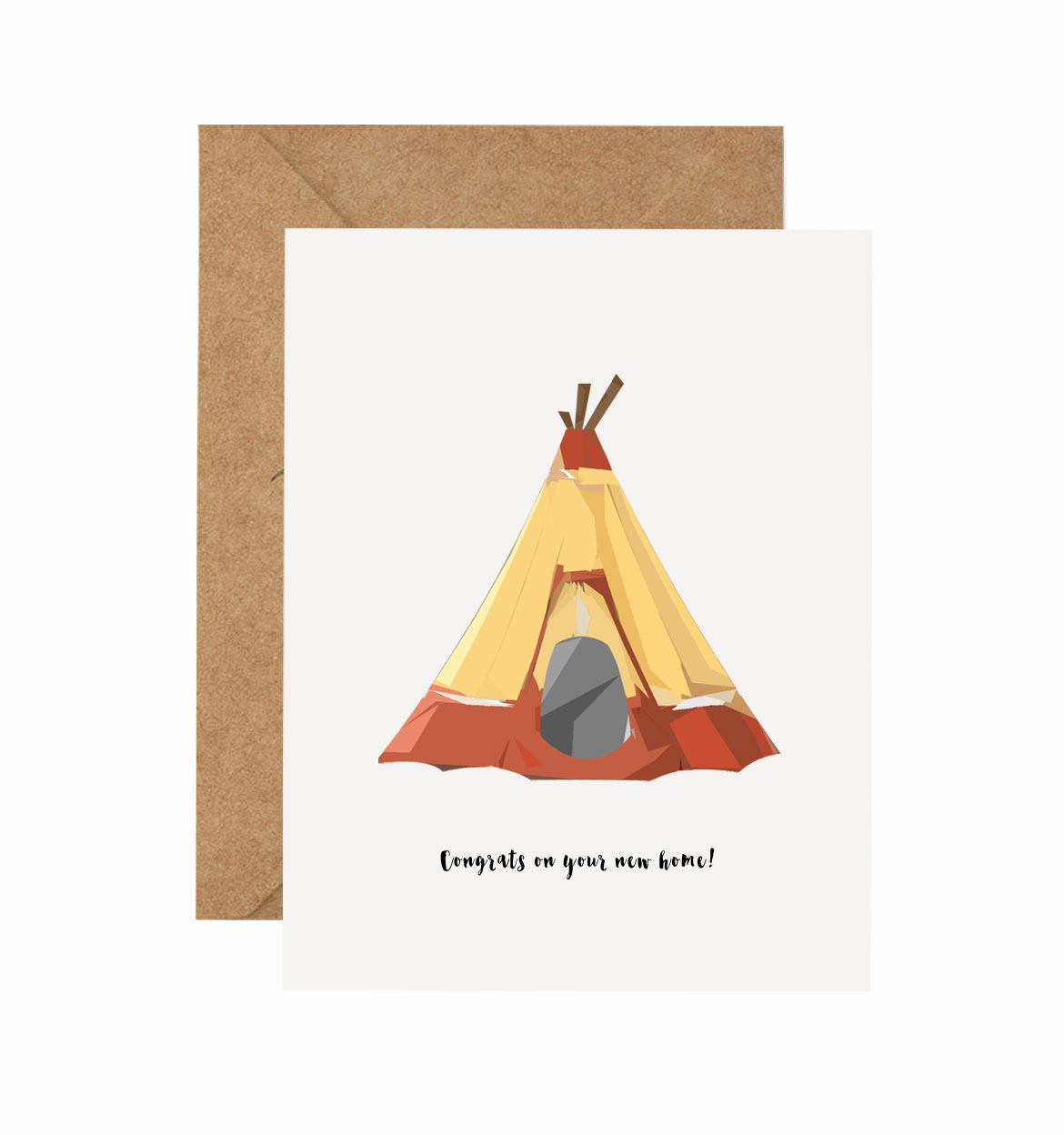 Congrats on your new home new home greeting cards telamoda housewarming kristyandbryce Image collections